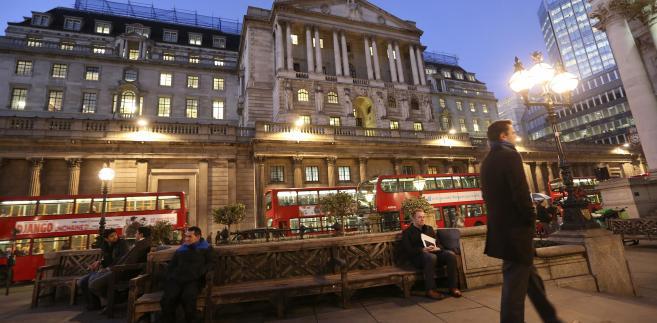 Bank of England w Londynie