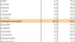 Bezrobocie w Polsce w styczniu 2013 r. woj. WIELKOPOLSKIE