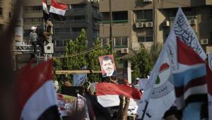 Kair - protesty zwolenników Mursiego