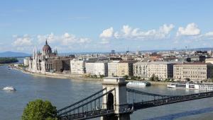 Węgry, widok Budapesztu