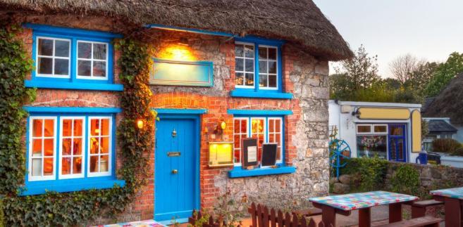 Tradycyjny irlandzki dom w Limerick