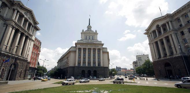 Budynek bułgarskiego parlamentu w Sofii
