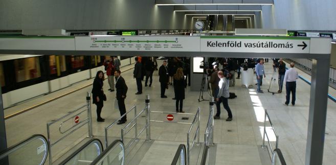 Budapeszt: otwarcie 4 linia metra, Fot. Konrad Majszyk