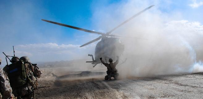 Helikopter NATO w Afganistanie