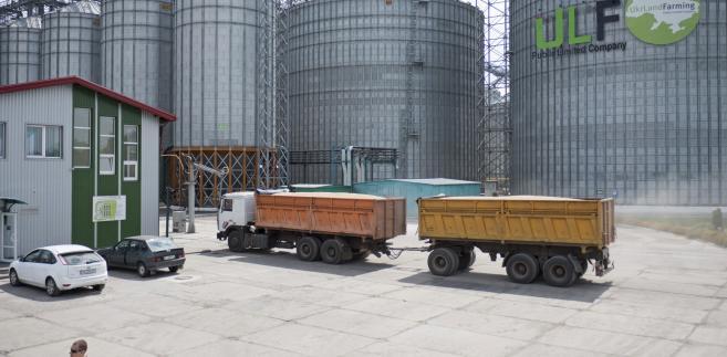 Zakłady Ukrlandfarming w Połtawie na Ukrainie