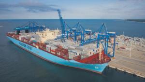 """Największe kontenerowce świata: Numer 3. """"Triple-E"""", Maersk"""