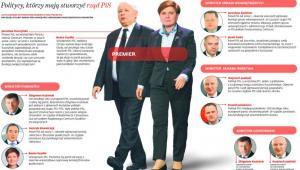 Politycy, którzy maja stworzyć rząd PiS