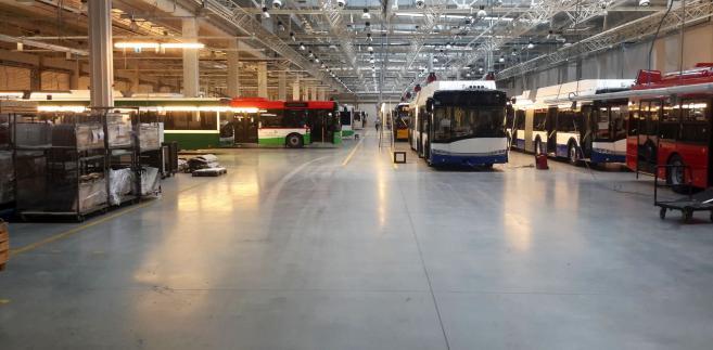 Fabryka autobusów Solaris w Bolechowie (3)