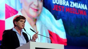 B. Szydło na konwencji w Katowicach