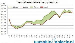 Produkcja i zużycie energii elektrycznej w Polsce