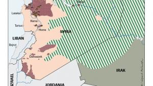Rosyjskie naloty w Syrii. Źrodło: OSW