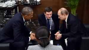 Putin i Obama w Turcji