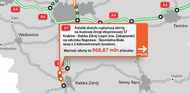 S7 - Naprawa - Skomielna Biała