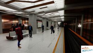 II linia metra w Warszawie - stacja Wolska