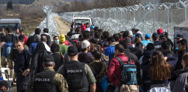 Grecja po zamknięciu granicy z Macedonią