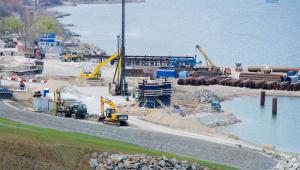 Aktualny stan prac przy budowie mostu na Krym. Źródło: http://most.life/
