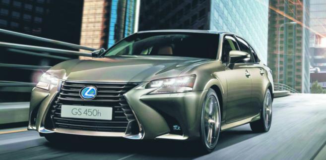 Lexus GS 450h materiały prasowe