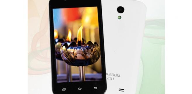 Smartfon Freedom 251 od Ringing Bells