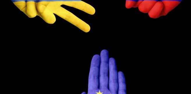 Ukraina, Rosja, UE