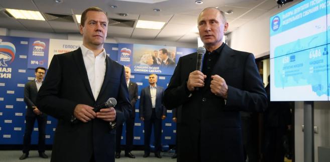 Rządząca partia Jedna Rosja wygrała niedzielne wybory do niższej izby parlamentu Rosji