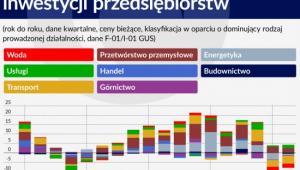 Wkład sekcji PKD we wzrost inwestycji przedsiębiorstw