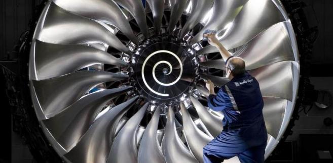 Silnik Trent 1000 produkcji Rolls-Royce w samolocie Boeing 787 Dreamliner. Publikacja za zgodą Rolls-Royce. Copyright © Rolls-Royce plc 2010.