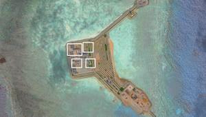 Wyspy Spratly - chińskie instalacje obronne, źródło: Asia Maritime Transparency Initiative/Digital Globe