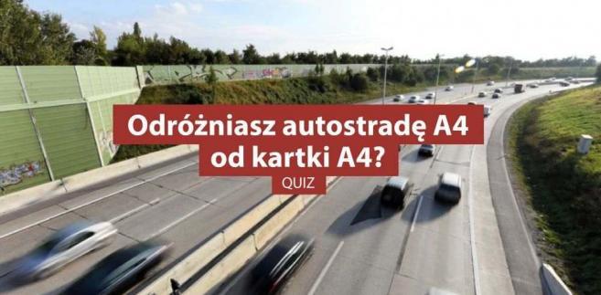 Quiz - co wiesz o autostradach
