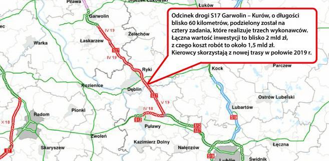 S17 między końcem obwodnicy Garwolina a węzłem Kurów Zachód - ssc.siskom.waw.pl