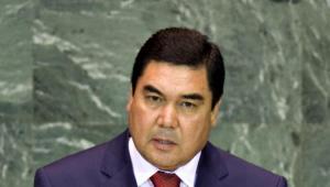 Kurbankuły Berdymuchmmedow, prezydent Turkmenistanu