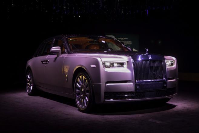 Premiera auta Rolls-Royce Phantom w Londynie. 27.07.2017