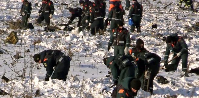 Katastrofa samolotu w Rosji
