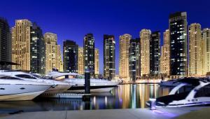 Przystań w Dubaju. Zjednoczone Emiraty Arabskie. Fot. Shutterstock.