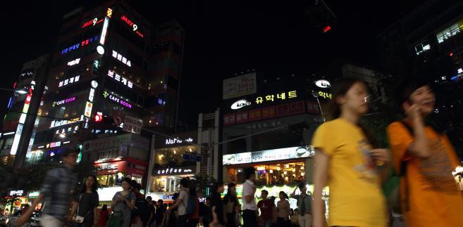 Ulica w stolicy Korei Południowej, Seulu. 24.06.2012 (8)
