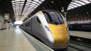 Pociąg zamówiony w Hitachi Ltd. przez departament transportu Wielkiej Brytanii dla programu Intercity Express Program. W ciągu trzech lat na ten cel przeznaczona będzie kwota 4,5 mld funtów (czyli około 7 mld dolarów). Wizualizacja2