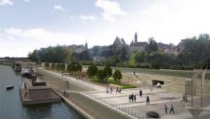 Tak mają wyglądać bulwary wiślane w Warszawie. Fot. UM Warszawy