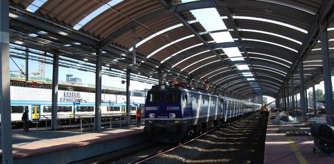 Budowa stacji kolejowej w Katowicach (1) fot. PKP Polskie Linie Kolejowe S.A.