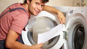 usługi - naprawa pralki
