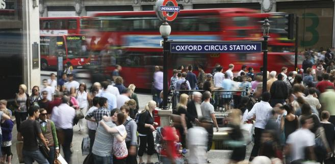 Oxford Circus w Londynie