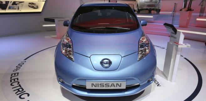 Elektryczny Nissan Leaf