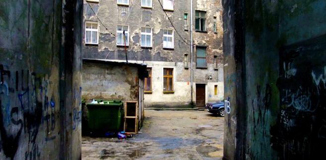 Wrocław, zaniedbana kamienica