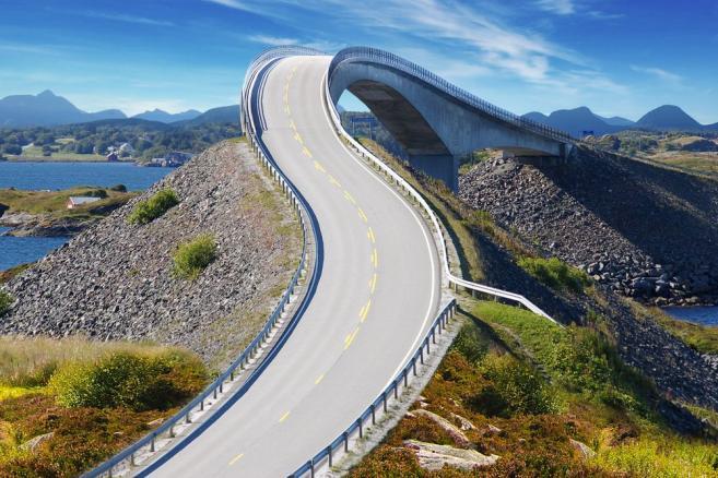 Norwegia, Atlanterhavsvegen