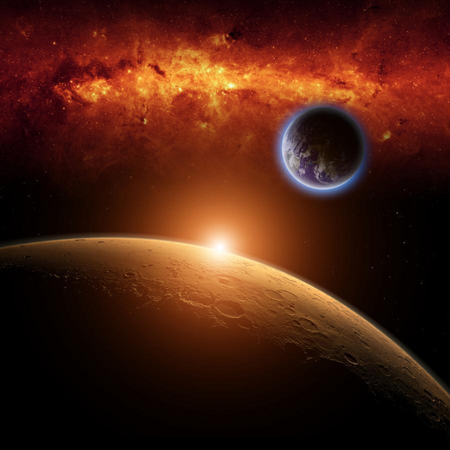 mars, planeta