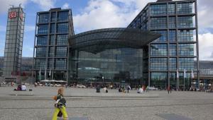 Hauptbahnhof w Berlinie