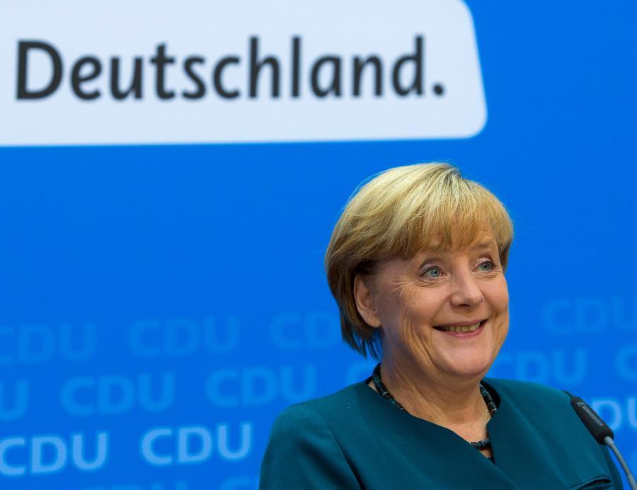 Deutschland - Kanclerz Niemiec Angela Merkel