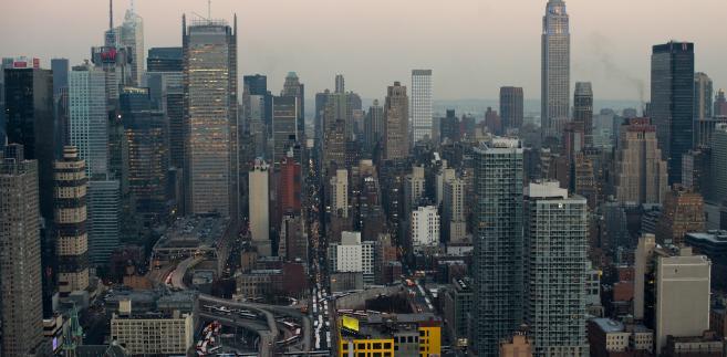 Nowy Jork - widok na Empire State Building