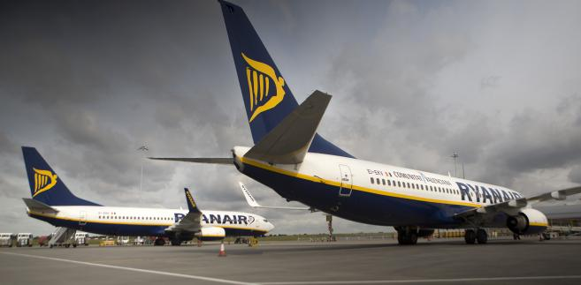 Samoloty linii Ryanair