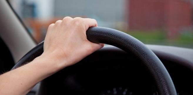 kierownica, samochód, jazda, prawo jazdy