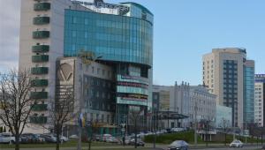 Hotel Victoria w Mińsku na Białorusi