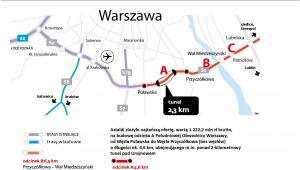 Poludniowa obwodnica Warszawy - oferta na odcinek A